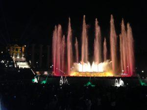 fontaine de montjuic barcelone