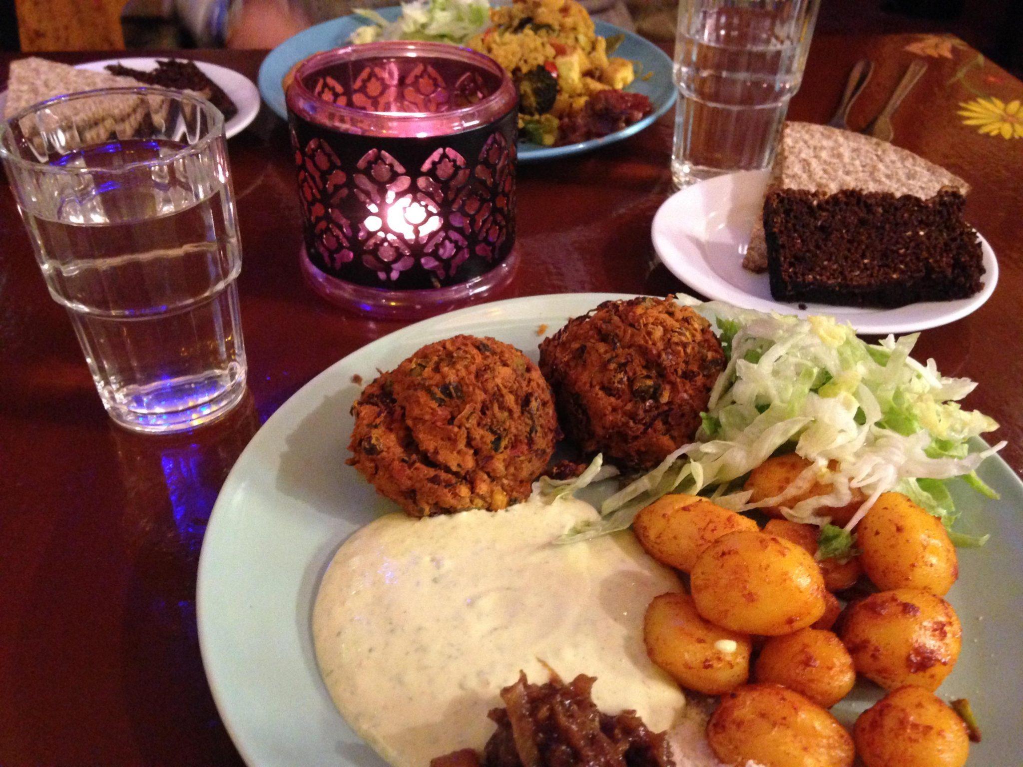 repas végétarien Stockholm