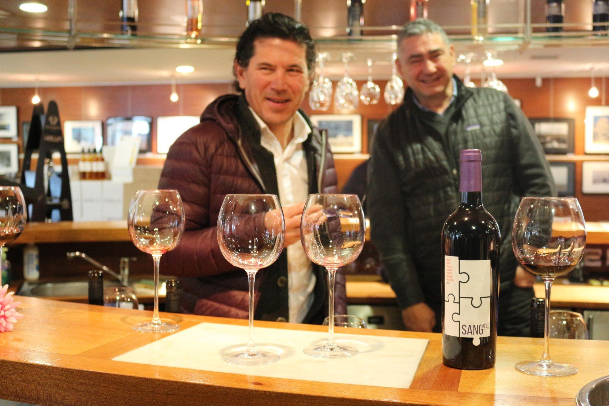 vin Sang-Mêlé vinovalie