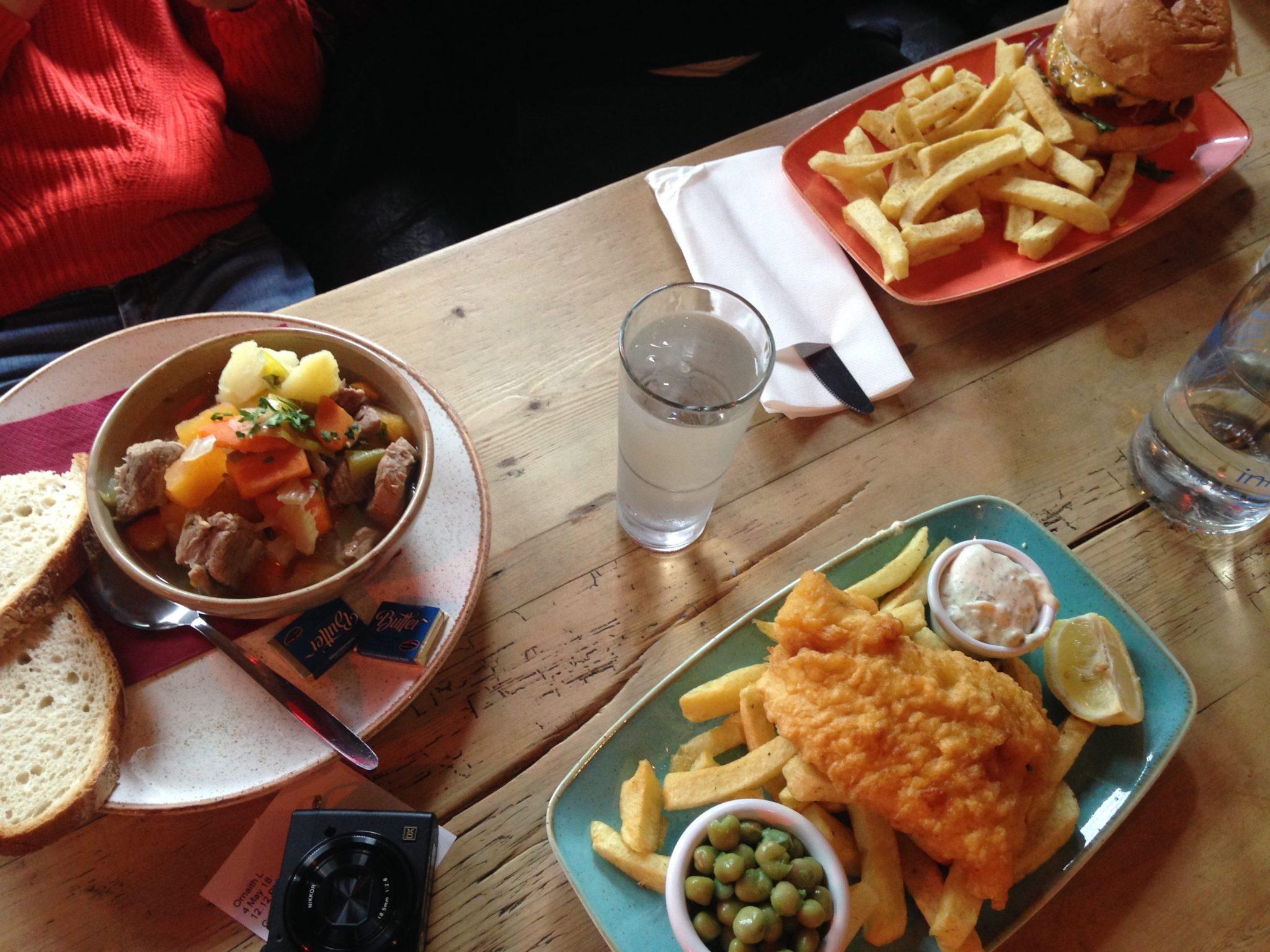 fish and chips - irish food