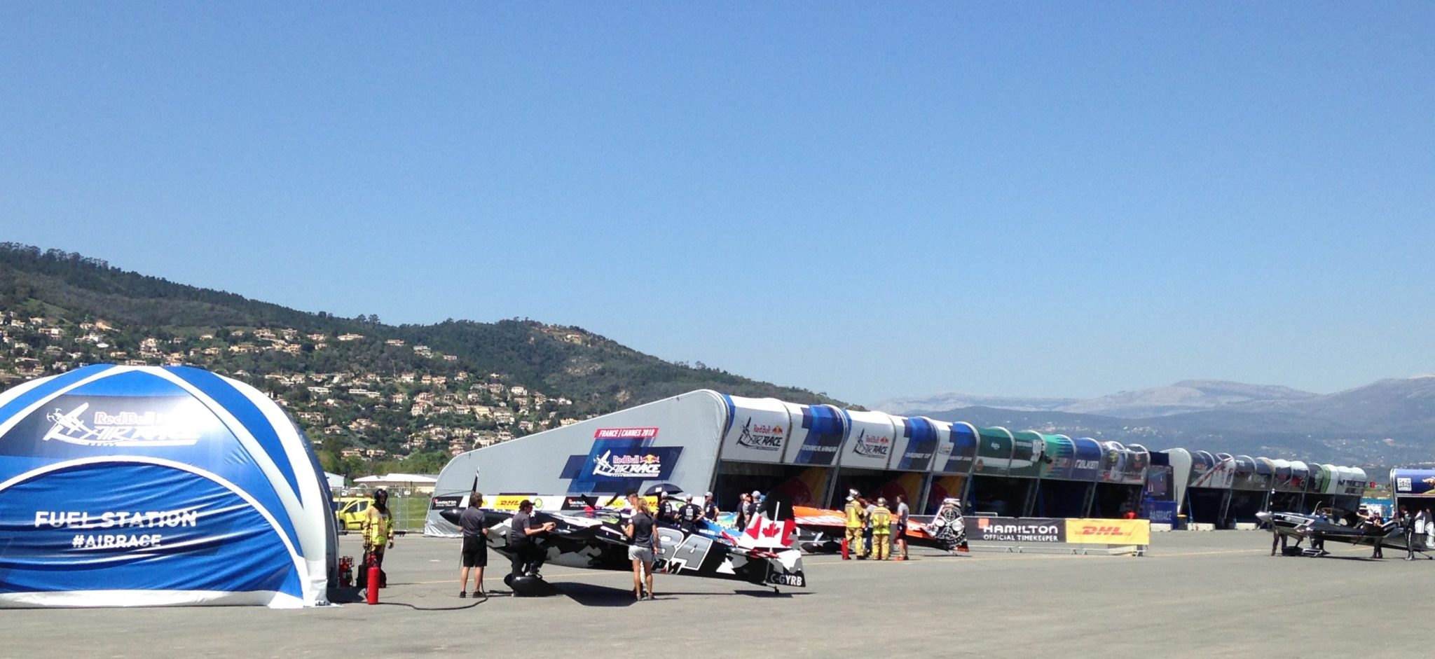 Red Bull Air Race 2018 Cannes Hangar