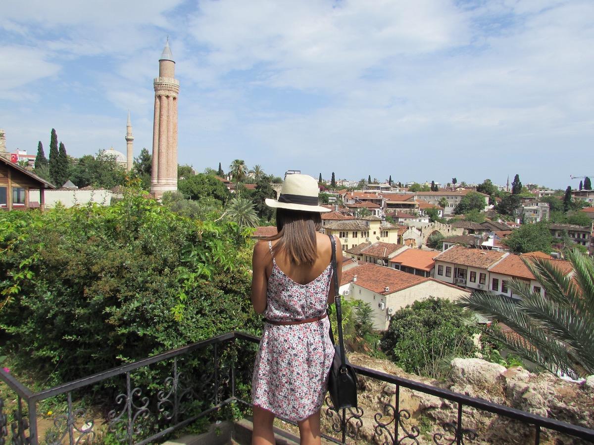 Florence_etc et la vue sur Antalya