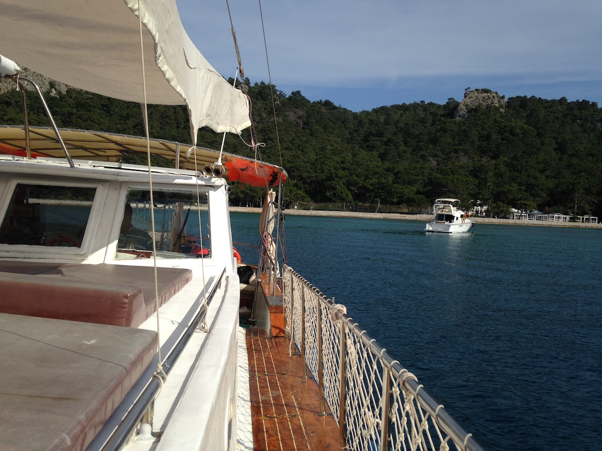 bateau antalya