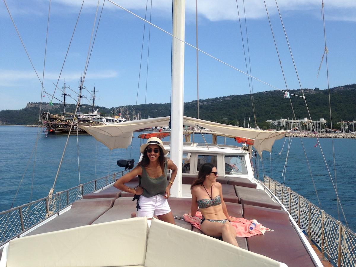 journée en bateau Antalya