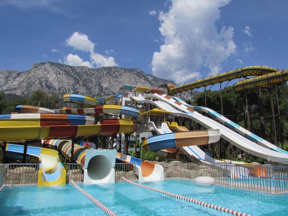 tobogans Nirvana Lagoon Villas Suites & Spa