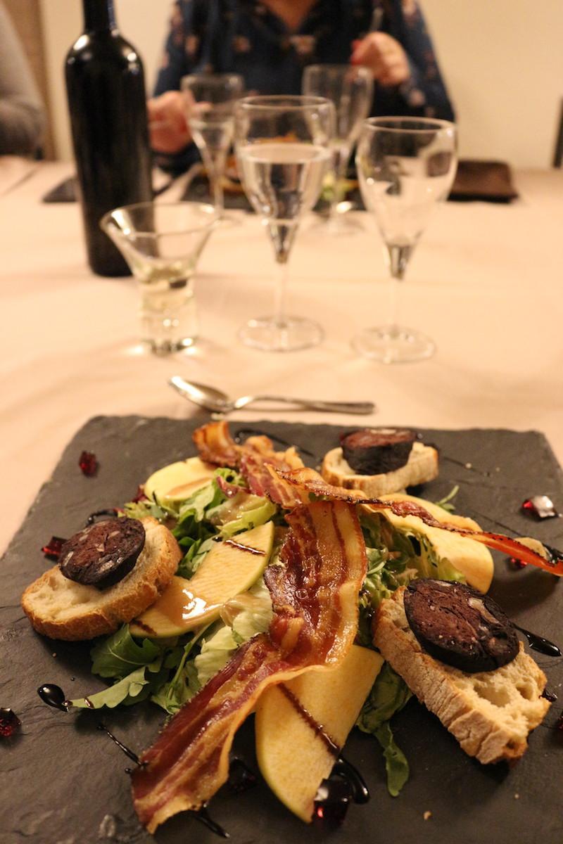 Dîner Gascon au restaurant Le Pardaillan
