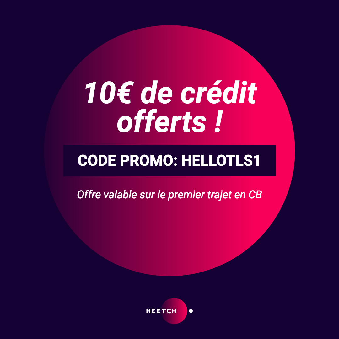 code promo Heetch 10 euros offerts
